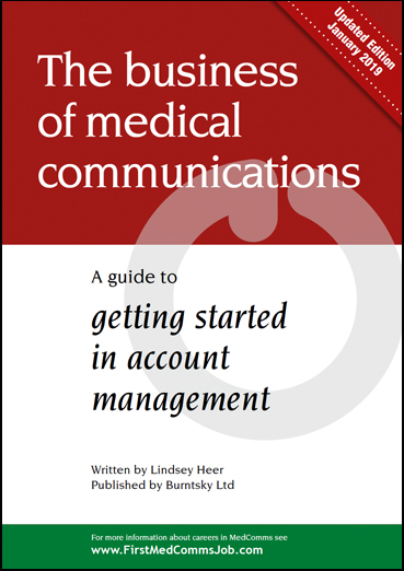 Download a free copy of the latest MedComms Careers Guide for account managers