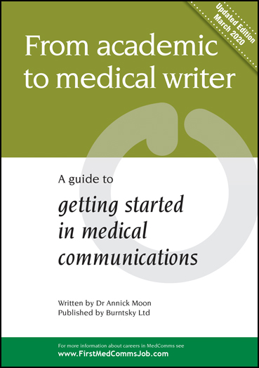 Download a free copy of the latest MedComms Careers Guide for medical writers