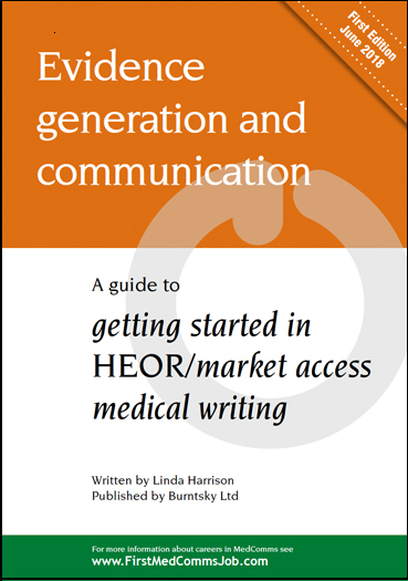 Download a free copy of the latest MedComms Careers Guide for HEOR and market access medical writers